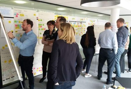 Design Thinking con Munich Re, Parigi
